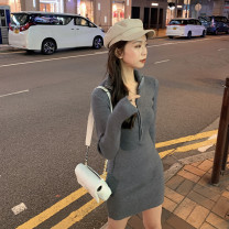 Women's large Autumn 2020 S M L singleton  commute Long sleeves Solid color Korean version have cash less than that is registered in the accounts other routine 1536# Buyido 18-24 years old Triacetate fiber (triacetate fiber) 100% Pure e-commerce (online only)
