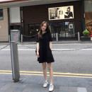 Scarf / silk scarf / Shawl Rayon Black s black m black l Black XL Black 2XL black 3XL summer Solid color Buyido Summer 2021