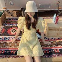 glove spandex Yellow dress S M L XL Yingzi instrument Spring 2021