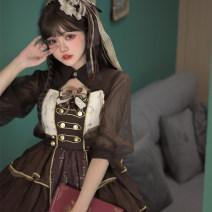 Lolita / soft girl / dress Cherry love Jsk + bow + headdress, candy bag, shirt S,M,L,XL,2XL,3XL Unlimited season, winter, summer, spring, spring and autumn Classic, Gothic, Lolita