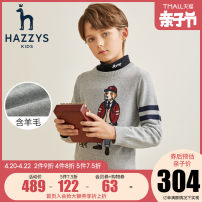 Sweater / sweater cotton male Hazzys leisure time Socket routine Crew neck nothing Ordinary wool Cartoon animation Cotton 80% wool 20% Class C Long sleeves Autumn 2020 spring and autumn