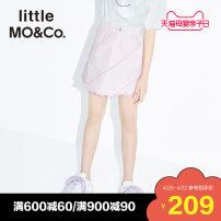 skirt 110/50 110/53 120/53 130/56 140/58 150/61 155/64 Gouache Little MO&CO. female Cotton 100% summer skirt Europe and America A-line skirt Pure cotton (100% cotton content) KBO2SKT016 Class B Summer 2020