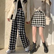 Casual pants Pants, skirt S,M,L Spring 2021 trousers Wide leg pants High waist commute routine 18-24 years old 30% and below other Korean version