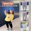 trousers luson female 80, 90, 100, 110, 120, 130, 140 spring trousers leisure time There are models in the real shooting Casual pants GSC1205 12 months, 18 months, 2 years old, 3 years old, 4 years old, 5 years old, 6 years old, 7 years old