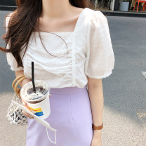Fashion suit Summer 2020 S,M,L,XL Top, skirt 18-25 years old