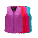 Vest Autumn 2020 XL 2XL 3XL 4XL 5XL have cash less than that is registered in the accounts V-neck Solid color zipper I-shaped 40-49 years old CF.COOFLAG/ Kushi banner polyester fiber Pure e-commerce (online only) Silk like cotton