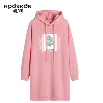 Sweater / sweater Autumn 2020 S M L XL XXL Long sleeves Medium length Socket singleton  Plush Hood easy commute routine Plants and flowers 25-29 years old 81% (inclusive) - 90% (inclusive) Housekon / Xiaoke Korean version cotton XK-1015-3005 cotton Cotton liner Cotton 84.9% polyester 15.1%