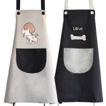 apron Sleeveless apron waterproof Korean version Household cleaning Average size public Cartoon