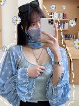 Scarf / silk scarf / Shawl polyester Spring and summer female Shawl multi-function Korean version Middle aged youth More than 96% Qiarnine / light printing qy65 Summer 2020