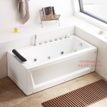 Massage bathtub Other / other Acrylic ≈1.5M Double skirt (right skirt) Intelligent panel control, pipe automatic sewage, magic lights, surf massage Home delivery by local buyers Hardware faucet accessories, massage surfing switch control, massage surfing touch panel control contain no