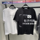 T-shirt Youth fashion White, black routine S,M,L,XL,2XL Jiang Taiping and niaoxiang Short sleeve Crew neck standard Other leisure summer B2DAB2163 youth routine tide 2021 printing cotton No iron treatment