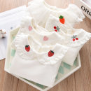 T-shirt Strawberry, carrot, cherry, cashmere love, cashmere cherry, cashmere strawberry, cashmere carrot Other / other female spring and autumn Long sleeves Lapel crew neck princess No model nothing cotton Solid color Cotton 95% polyurethane elastic fiber (spandex) 5% Class B other Chinese Mainland