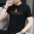 T-shirt Youth fashion 221 black, 221 white, 221 blue, 221 dark gray, 289 black, 289 white, 289 dark blue thin S. M, l, XL, 2XL, 3XL, 4XL Others Short sleeve Crew neck Self cultivation daily summer youth other