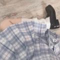 skirt Spring 2020 S,M,L,XL Baiming plaid skirt + cravat, Baiming plaid skirt + cravat, Baiming plaid skirt + double-layer cravat, Baiming plaid skirt + no tie Short skirt Versatile Natural waist Pleated skirt Type A 18-24 years old