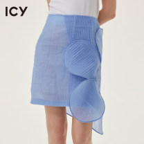 skirt Summer 2021 S M L blue Short skirt dream Natural waist Irregular Big flower Type H 25-29 years old 20520C0060 51% (inclusive) - 70% (inclusive) Icy nylon Splicing Polyamide (nylon) 60% polyester 40% Same model in shopping mall (sold online and offline)