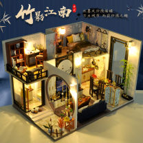 Architecture / DIY house / other assembly model Skillful craftsman Over 14 years old Wooden toys Chinese Mainland Assembly wood