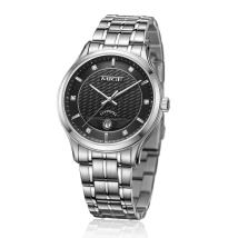 Wristwatch Synthetic sapphire crystal stainless steel stainless steel 40mm Quanguolianbao MiG Couple table Quartz movement domestic 3ATM 8mm Casual Yes