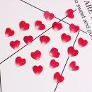 Fabric / fabric / handmade DIY fabric Others 20 heart-shaped red rose petals 20 heart-shaped purple red rose petals Yunyi