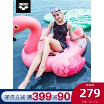 one piece  Arena / arena M L XL 2XL PNK NVY BLK Skirt one piece With chest pad without steel support Spandex polyester CLS0407W Spring 2020 yes female Sleeveless CLS0407W Casual swimsuit