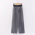 Casual pants Bright grey S/155,M/160,L/165,XL/170 Spring 2021 Wide leg pants High waist