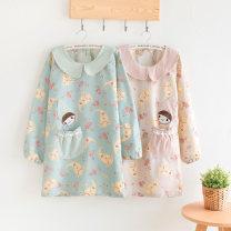 apron Sleeve apron antifouling Korean version other Household cleaning Average size Shi Peiqi / ORSV public no Cartoon
