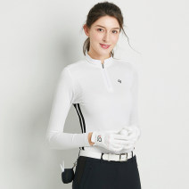 Golf apparel White 0037 long sleeves, black 0037 long sleeves, red 0037 long sleeves, white 0038 long sleeves, treasure blue 0038 long sleeves, pink 0038 long sleeves S,M,L,XL,XXL female SWAN LOVE GOLF Long sleeve T-shirt