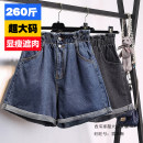 Women's large Summer 2020, spring 2020 Blue, dark gray, light blue Large XL, 2XL, 3XL, 4XL, 5XL trousers pocket 71% (inclusive) - 80% (inclusive) shorts
