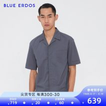 shirt Fashion City blue erdos 165/84A/S 170/88A/M 175/92A/L 180/96A/XL Khaki blue grey routine other Short sleeve standard Other leisure spring B195HC027 youth Cotton 69% polyester 31% Business Casual other Spring of 2019 other other Same model in shopping mall (sold online and offline)
