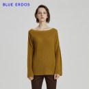 Wool knitwear Spring of 2018 85 90 95 100 105 Long sleeves singleton  Socket cotton 81% (inclusive) - 90% (inclusive) Regular routine commute Low crew neck raglan sleeve Solid color Socket Simplicity 25-29 years old blue erdos