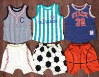 suit Other / other Football suit, basketball suit, baseball suit, football jacket, basketball jacket, Baseball Jacket, basketball shorts, baseball shorts, Football Shorts 80cm,90cm,100cm,110cm,120cm,130cm summer solar system Sleeveless + pants 2 pieces Thin money No model Socket cotton Cotton 100%