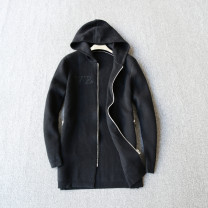 T-shirt / sweater Others other black 105,110,115,120 Cardigan Cap Long sleeves
