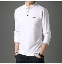 T-shirt Fashion City White, red, gray, black routine 165 / m for 100-120 kg, 170 / L for 120-140 kg, 175 / XL for 140-155 kg, 180 / 2XL for 155-170 kg, 185 / 3XL for 170-185 kg, 190 / 4XL for 185-200 kg Others Long sleeves Lapel standard daily spring DS-8211 youth routine other 2020 Solid color other