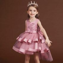 Dress female Carisa 100cm,110cm,120cm,130cm,140cm,150cm Polyester 100% summer princess Skirt / vest other other A-line skirt L67 Class B Three, four, five, six, seven, eight, nine, ten, eleven, twelve Chinese Mainland