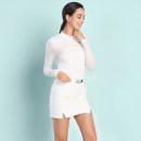 Golf apparel White top, light pink top, white top + skirt, light pink top + skirt S,M,L,XL,XXL female BLK TEE Long sleeve T-shirt