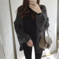Wool knitwear Winter of 2018 S,M,L,XL black Long sleeves singleton  Cardigan other 91% (including) - 95% (excluding) Regular routine commute easy routine Solid color Korean version