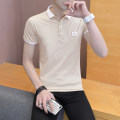Polo shirt Monkey play Youth fashion routine M L XL 2XL 3XL Self cultivation Other leisure summer Short sleeve Cool first 701 tide routine teenagers Cotton 95% polyurethane elastic fiber (spandex) 5% washing Summer of 2019