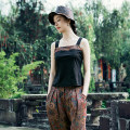 Vest sling Summer of 2019 singleton  routine Self cultivation Original design camisole other 96% and above cotton Qiyi