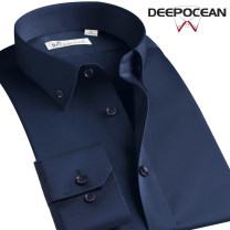 shirt Business gentleman DEEPOCEAN 37 38 39 40 41 42 43 44 36 45 46 routine Button collar Long sleeves Self cultivation go to work spring DDX95508L-2020 youth Cotton 100% Business Casual 2020 Solid color Color woven fabric Spring 2020 No iron treatment cotton other Pure e-commerce (online only)