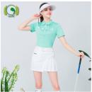 Golf apparel Small fresh top, anti light skirt, suit (top + skirt) give stockings XXL,XL,L,M,S female G-LIFE t-shirt