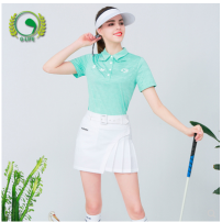 Golf apparel Small fresh top, anti light skirt, suit (top + skirt) give stockings XXL,XL,L,M,S female G-LIFE t-shirt