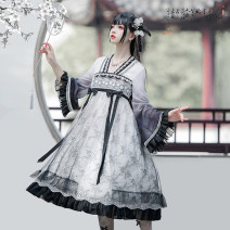 Lolita / soft girl / dress MILU ORIG White and black gradients Size one (usually s or m), size two (usually L or XL) goods in stock