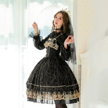 Lolita / soft girl / dress MILU ORIG Vest skirt M (for small and medium sizes), l (for large and large sizes) Unlimited season, summer, spring, spring and autumn goods in stock Gothic, Lolita, soft girl