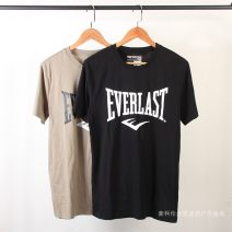 T-shirt Fashion City Black, greyish green thin S,M,L,XL,2XL,3XL Others Short sleeve Crew neck easy Other leisure summer routine