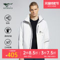 Sports jacket / jacket Seven wolf fashion movement male 165A 170A 175A 180A 185A 190A 1H1A50101512#7 1h1a501512 (black) 1h1a5011512 (light gray) 1h1a5011512 (white) Autumn 2020 Detachable cap zipper Color contrast brand logo letter offset printing outdoor sport Wear resistant and windproof yes