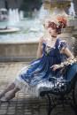 Lolita / soft girl / dress Nine songs Lolita Elegant jsk full, gorgeous jsk full, lovely jsk full, shawl full, short sleeve full, independent big sleeve full, necklace full, KC + headdress full, curtain veil full One size, l, m, s, a, B, 1, 2