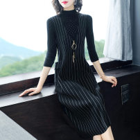 Fashion suit Autumn of 2019 S M L XL 2XL 3XL Single vest skirt vest skirt + thin T-shirt (2-piece set) vest skirt + sweater (2-piece set) Over 35 years old Yi meichu YQ-8226 Other 100% Pure e-commerce (online only)