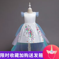Children's performance clothes skirt female 110CM,120CM,130CM,140CM,150CM Other / other Class B other Polyester 65% cotton 35% Cotton and hemp Three, four, five, six, seven, eight, nine, ten Europe and America