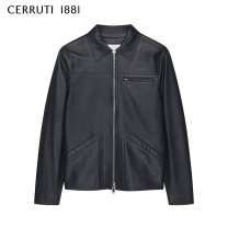 leather clothing Cerruti 1881 / dronodi Fashion City Navy blue forest green 46 48 50 52 54 56 have cash less than that is registered in the accounts Leather clothes Lapel Straight cylinder zipper Other 100% Business Casual C3858EI02 Winter 2020 Same model in shopping mall (sold online and offline)