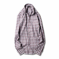 shirt Fashion City Others S,M,L,XL,2XL,XS Graph color routine Button collar Long sleeves standard Other leisure autumn youth Cotton 100% tide 2018 lattice Color woven fabric washing cotton More than 95%