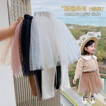 trousers Other / other female 7 (order according to size chart), 9 (order according to size chart), 11 (order according to size chart), 13 (order according to size chart), 15 (order according to size chart) Black, white, khaki, gray, pink spring and autumn trousers Korean version Leggings cotton